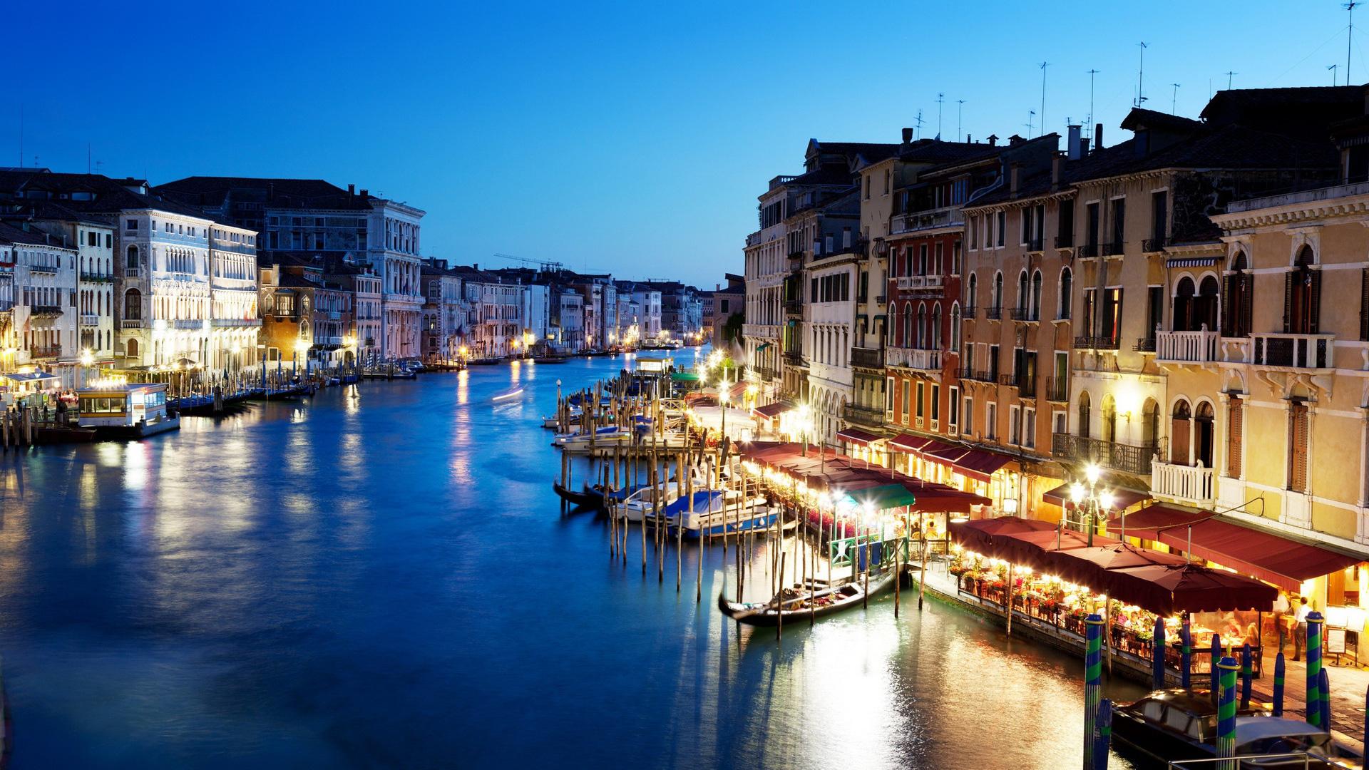 Ảnh Venice về đêm