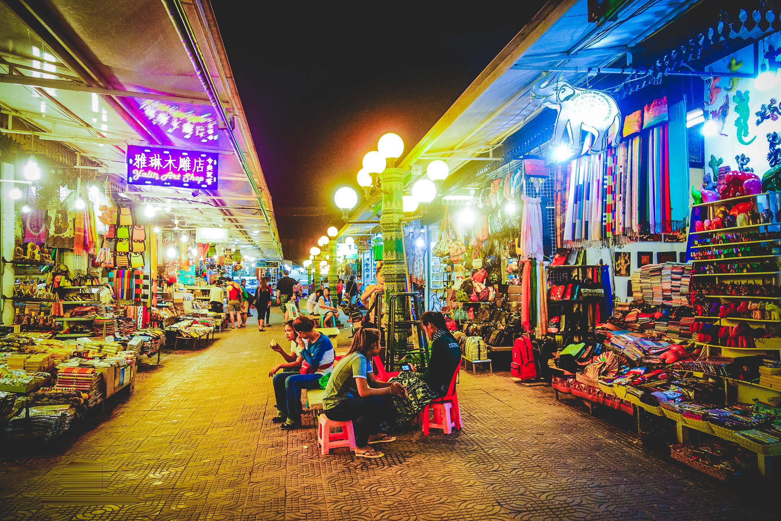 Chợ đêm Siem Reap