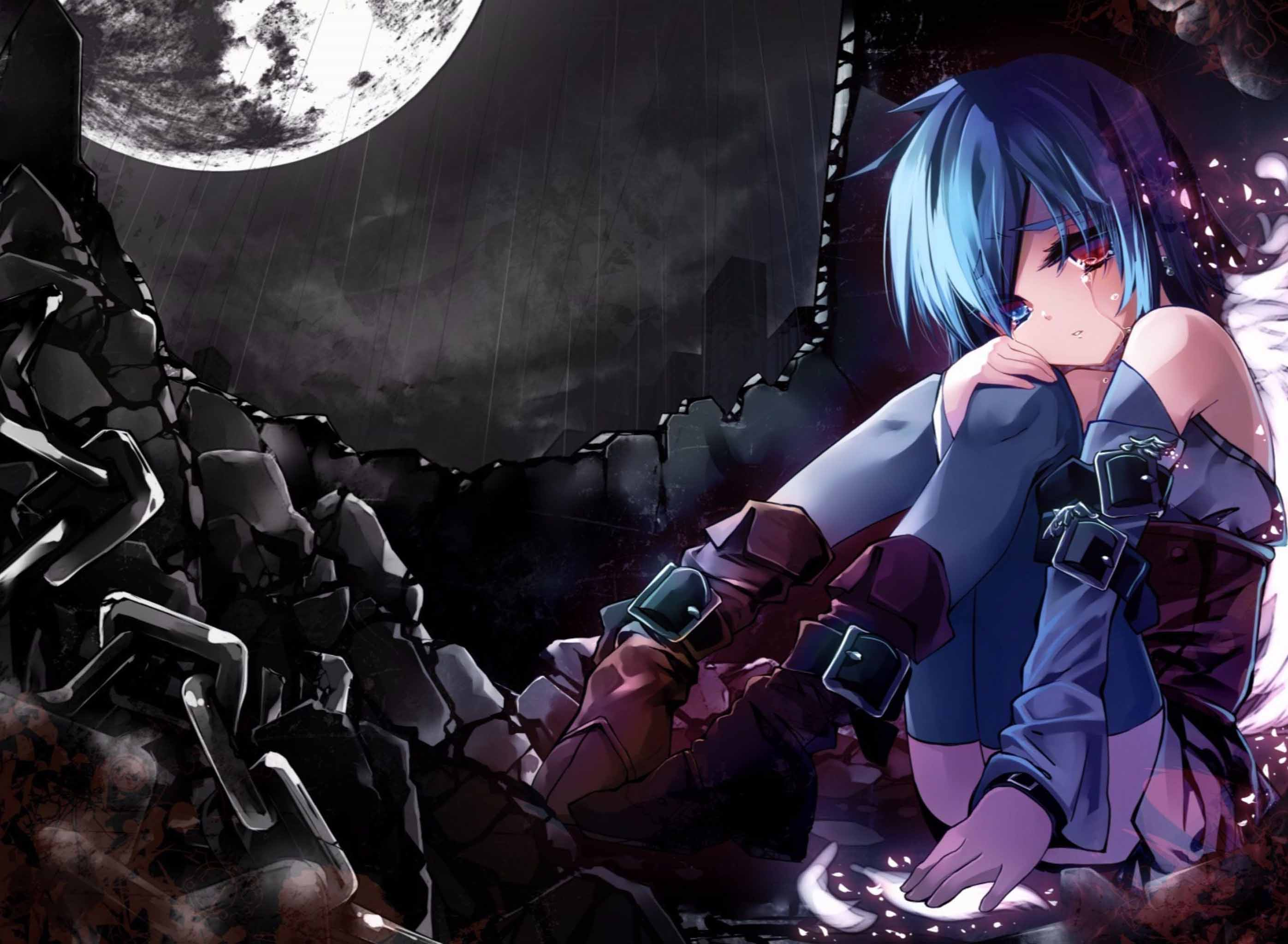 Hình ảnh anime buồn cô đơn cực dẹp