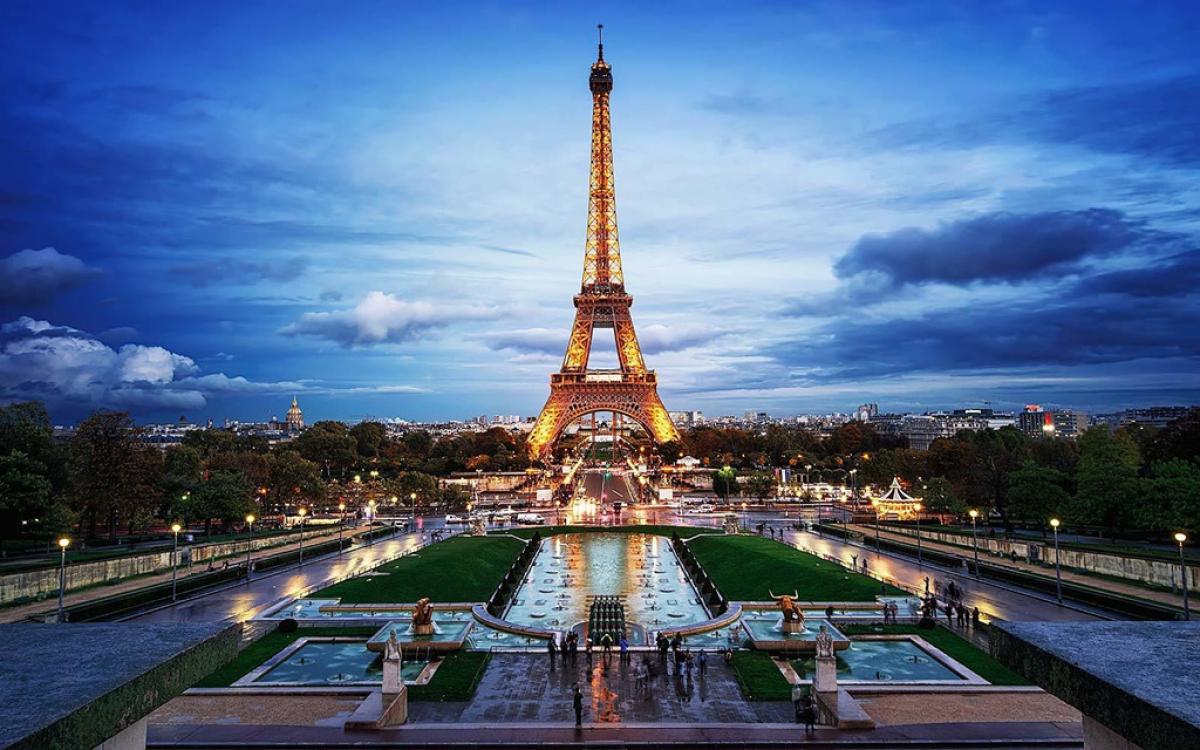 Hình ảnh đẹp nhất về tháp Eiffel