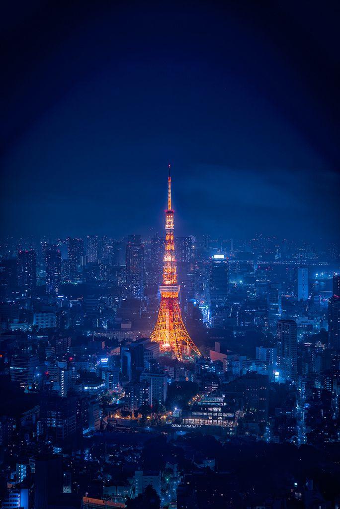 Hình ảnh đẹp nhất về tháp Tokyo