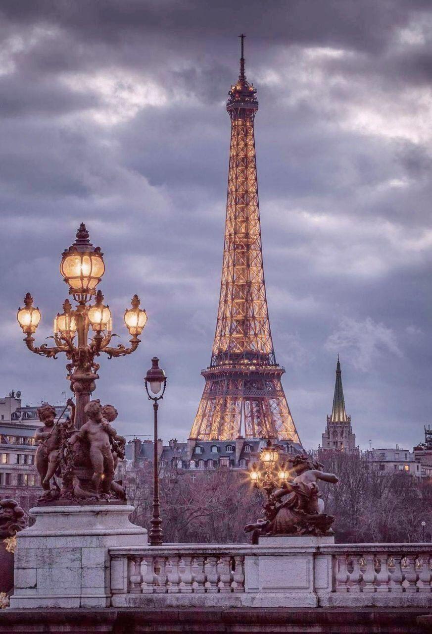 Hình ảnh đẹp về tháp Eiffel