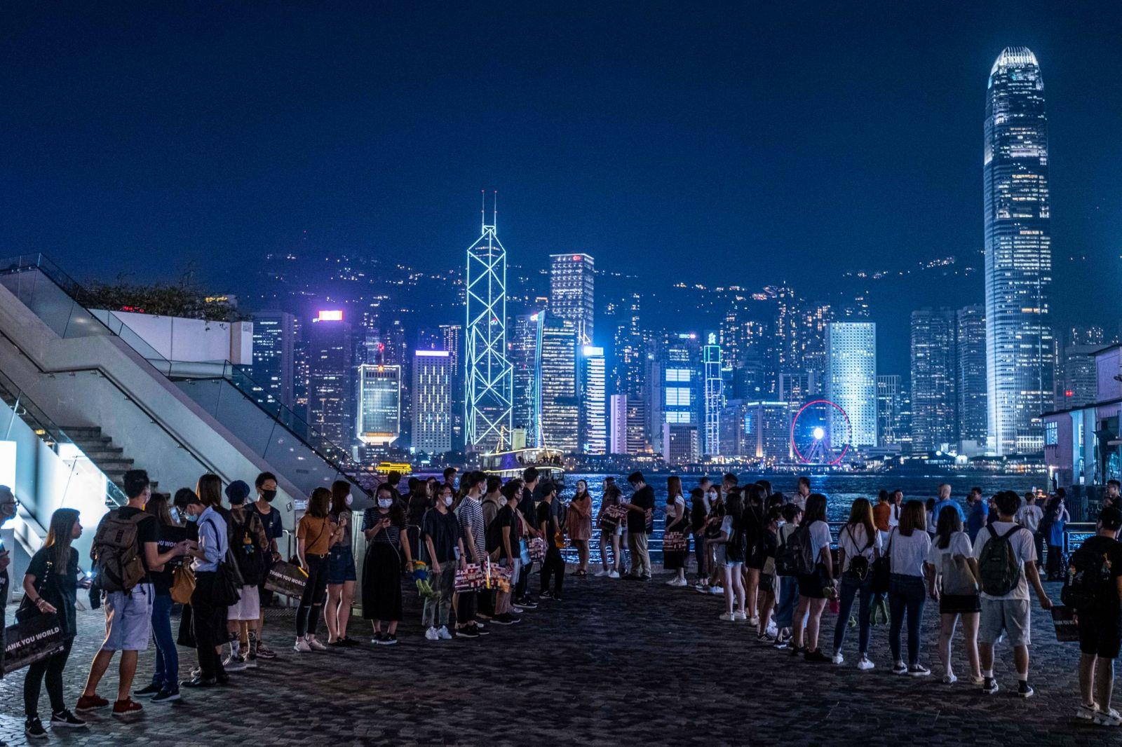 Hình ảnh giới trẻ tại Hồng Kông