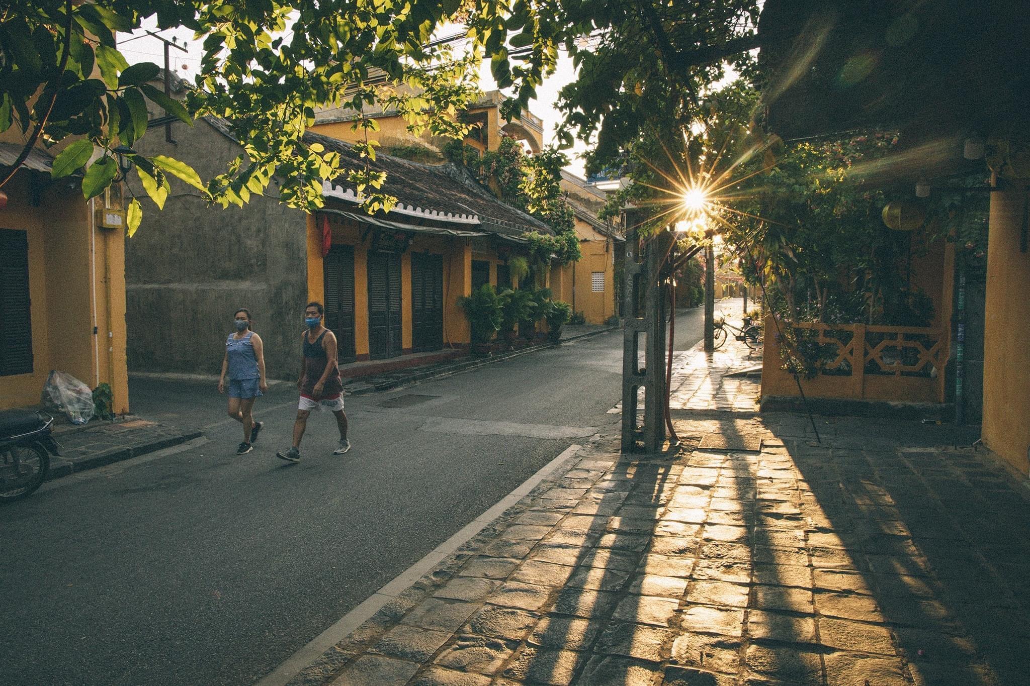 Hình ảnh Hội An một buổi sáng sớm