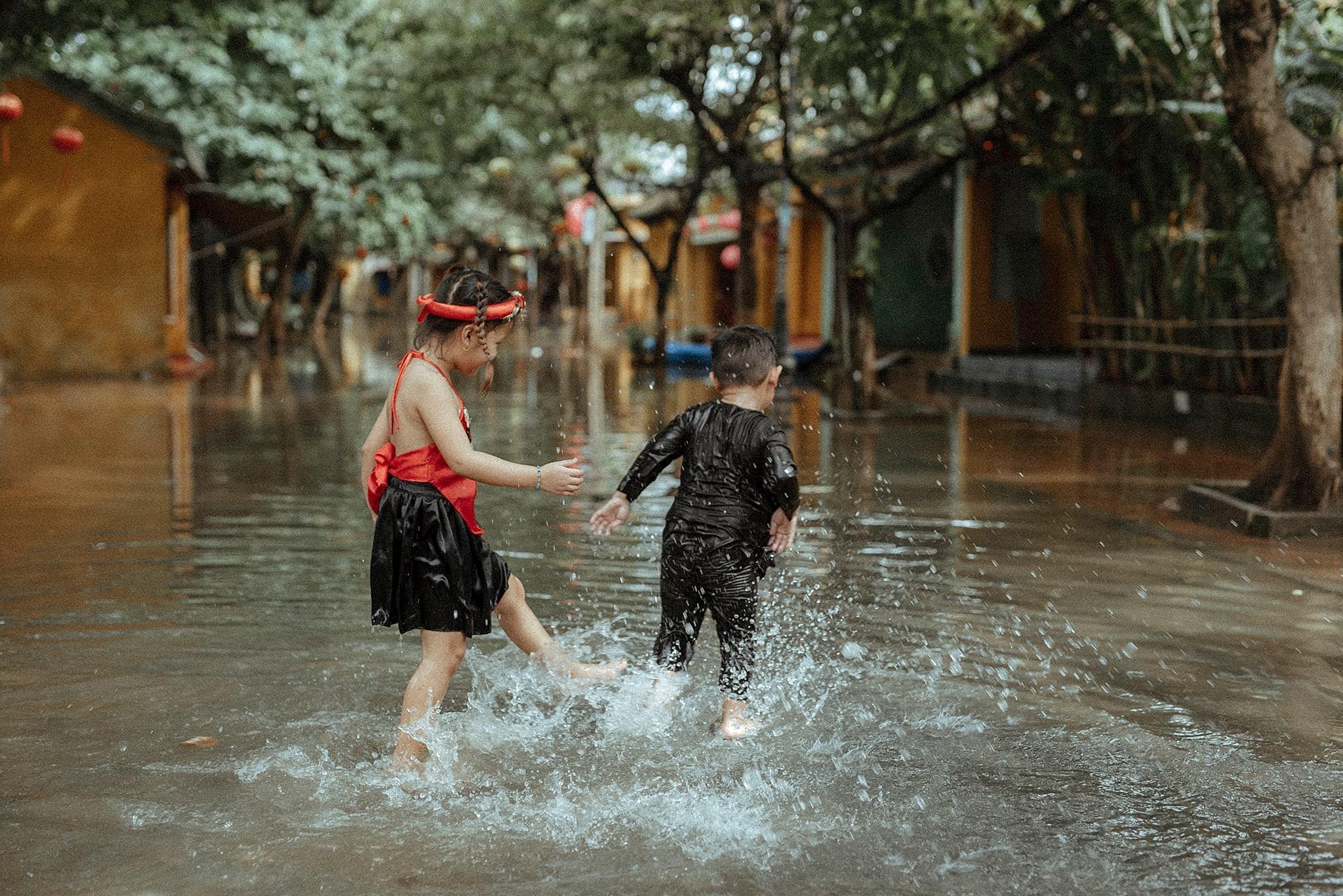 Hình ảnh Hội An sau những ngày nước lũ