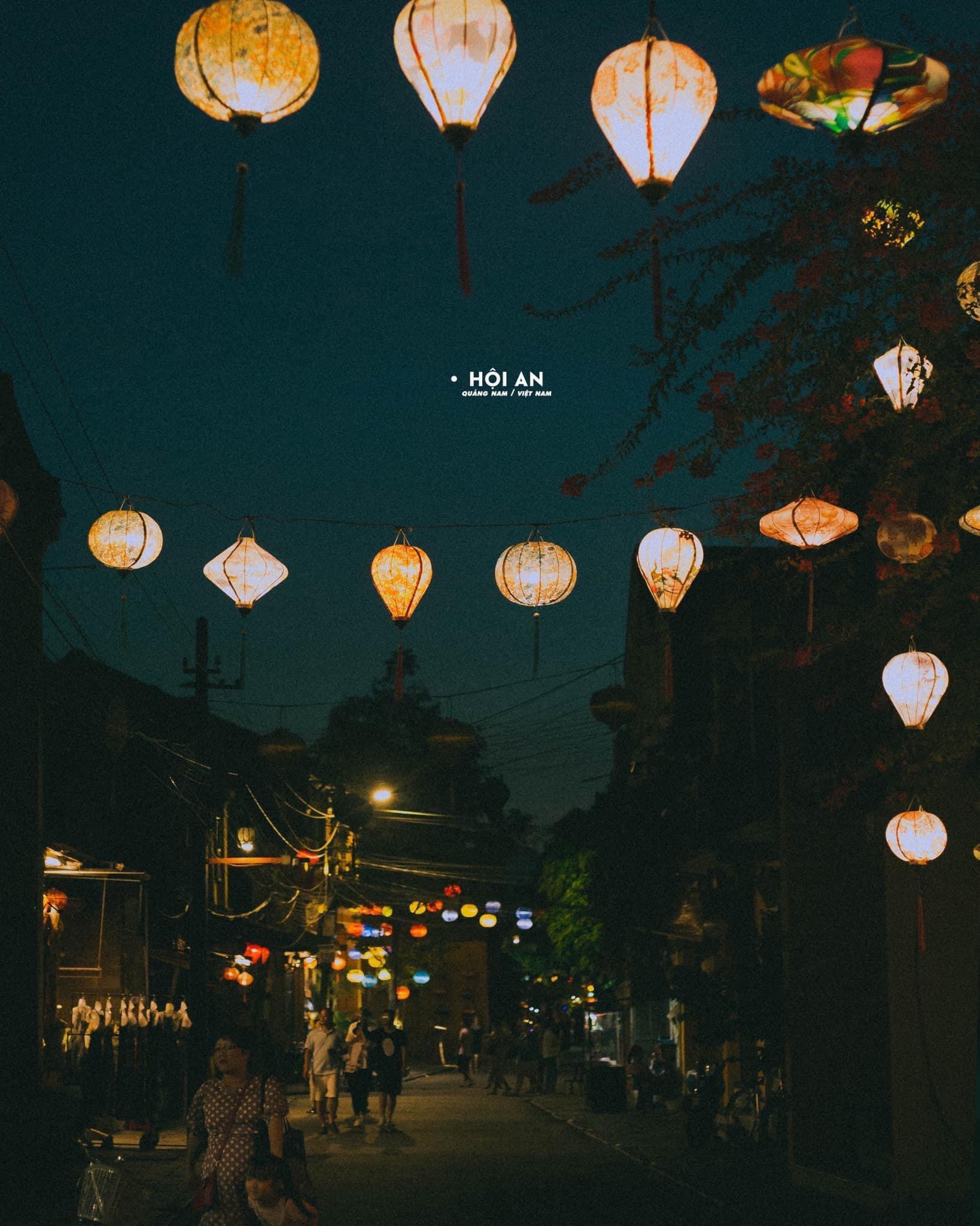 Hình ảnh Hội An về đêm đẹp nhất