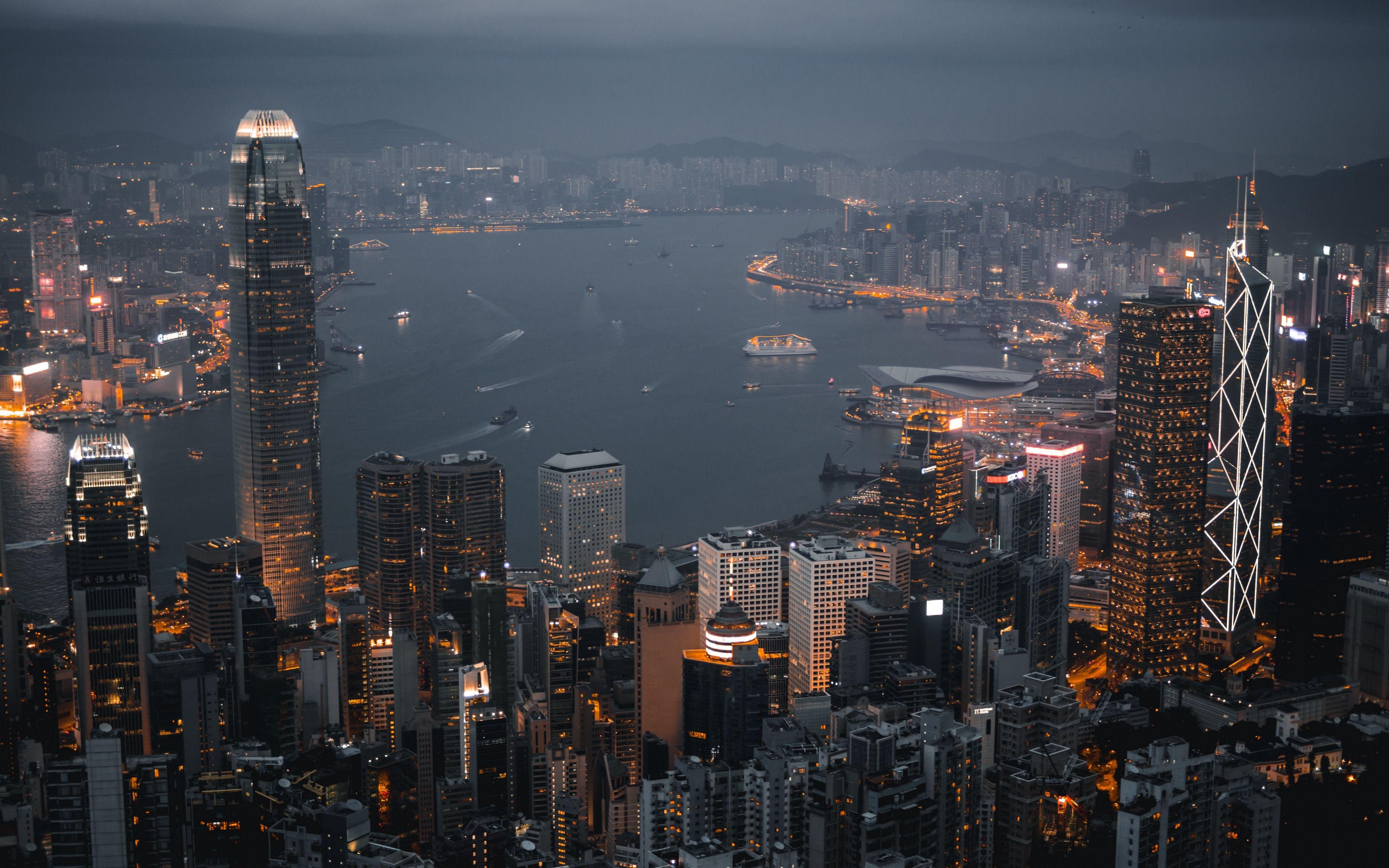 Hình ảnh Hồng Kông lúc lên đèn đẹp nhất