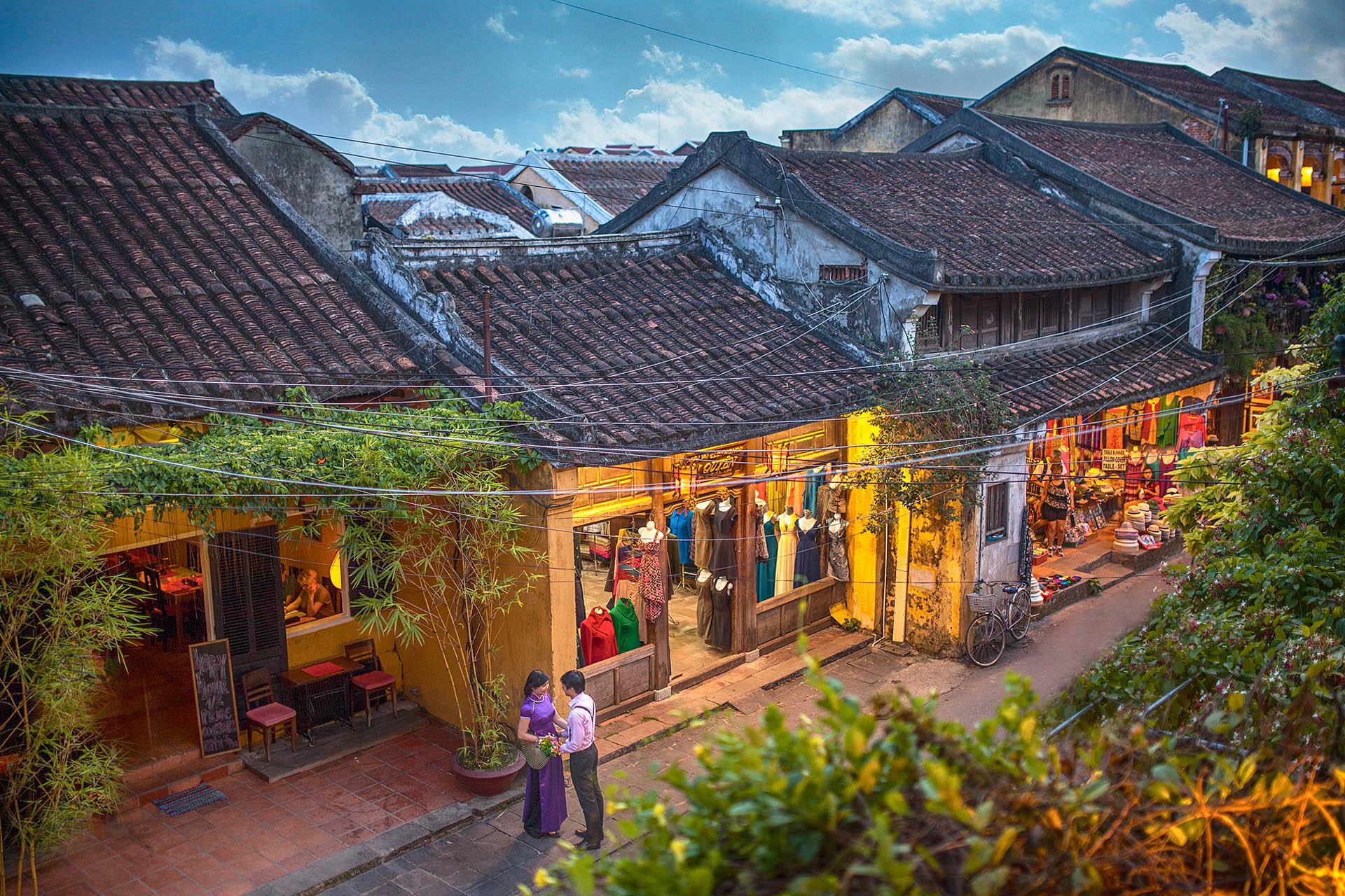 Hình ảnh khu phố cổ tại Hội An