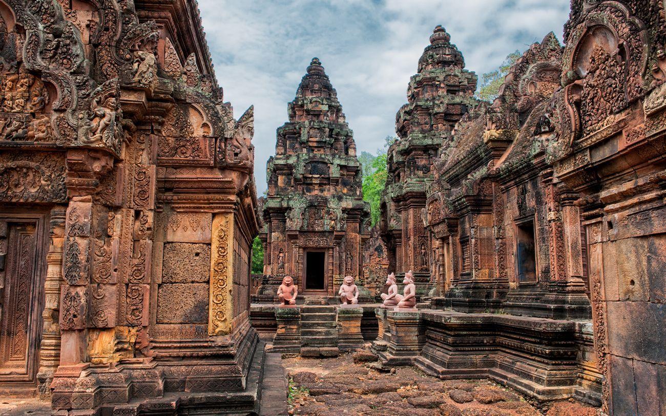Hình ảnh kiến trúc độc đáo tại các ngôi đền ở Siem Reap