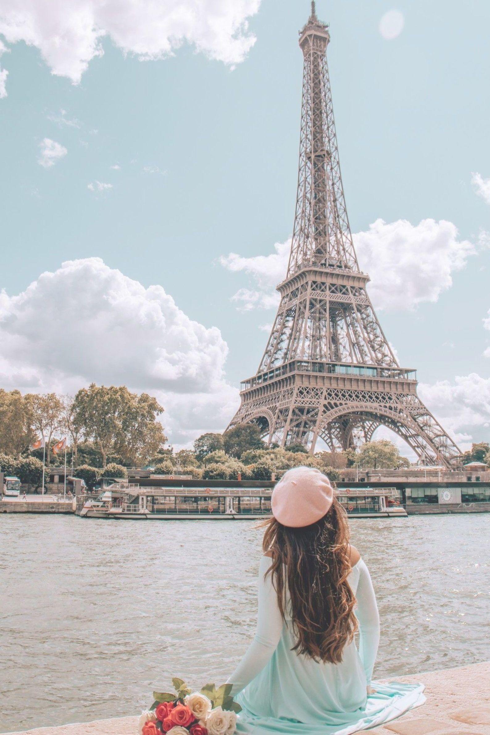 Hình ảnh ngắm tháp Eiffel - biểu tượng nước Pháp