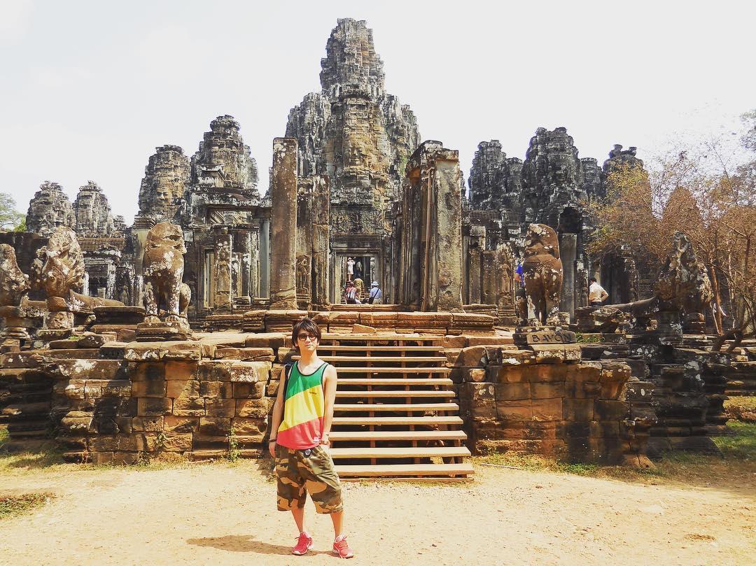 Hình ảnh ngôi đền Angkor Wat uy nghi
