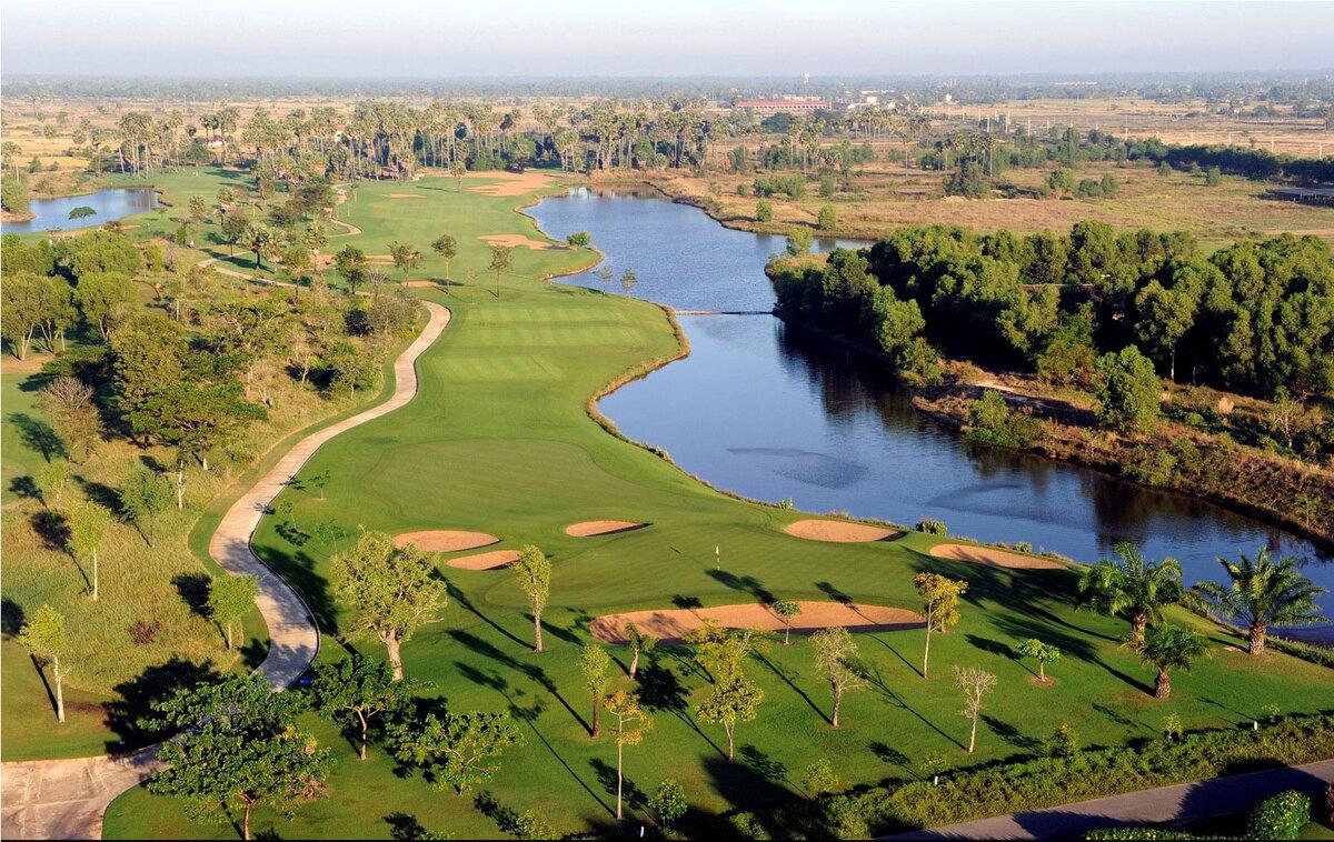 Hình ảnh những hố golf đẹp nhất Siem Reap