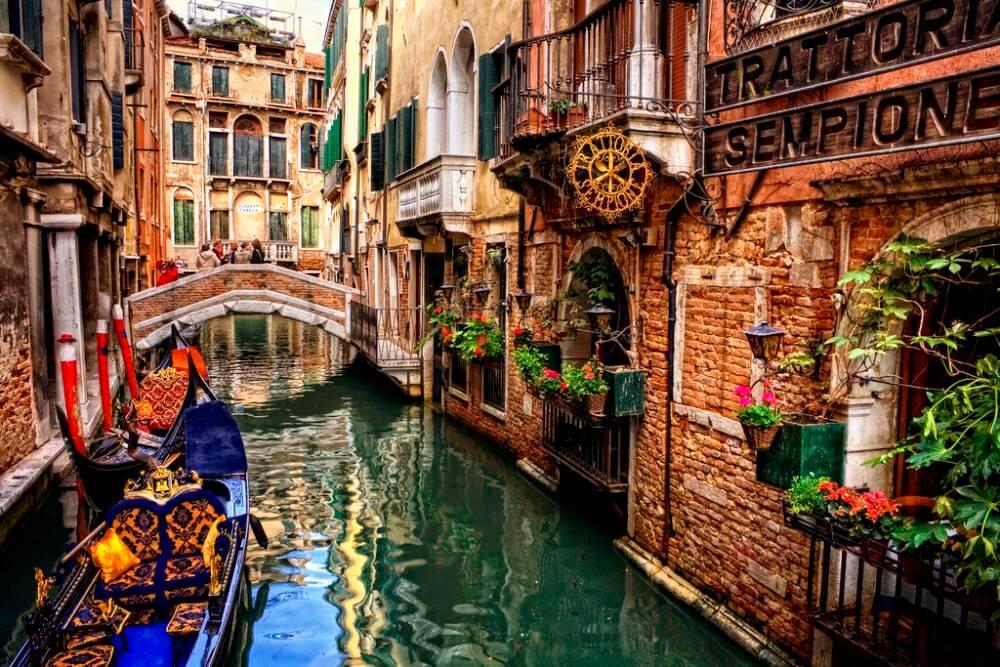 Hình ảnh thành phố Venice đẹp, thơ mộng