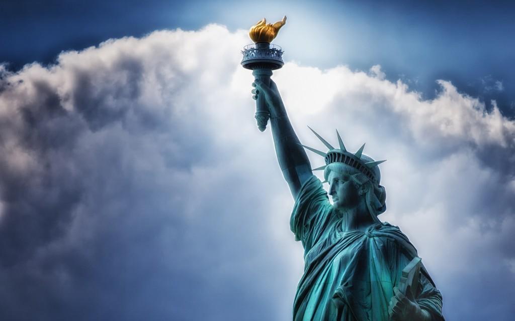 Hình ảnh tượng nữ thần tự do cực đẹp