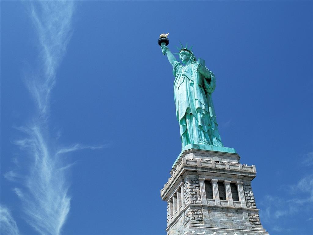 Hình ảnh tượng nữ thần tự do đẹp tinh tế