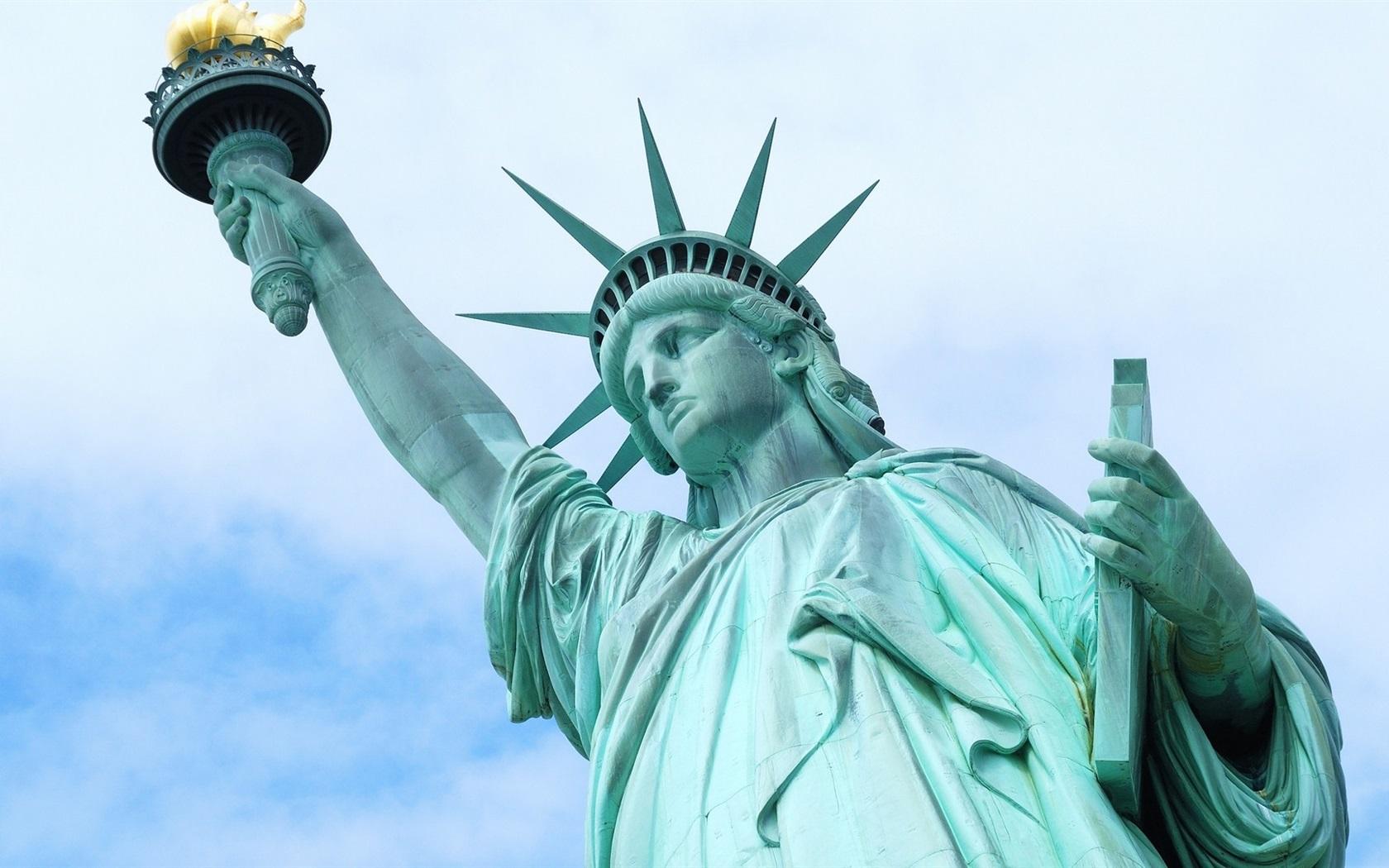 Hình ảnh tượng nữ thần tự do ở Mỹ