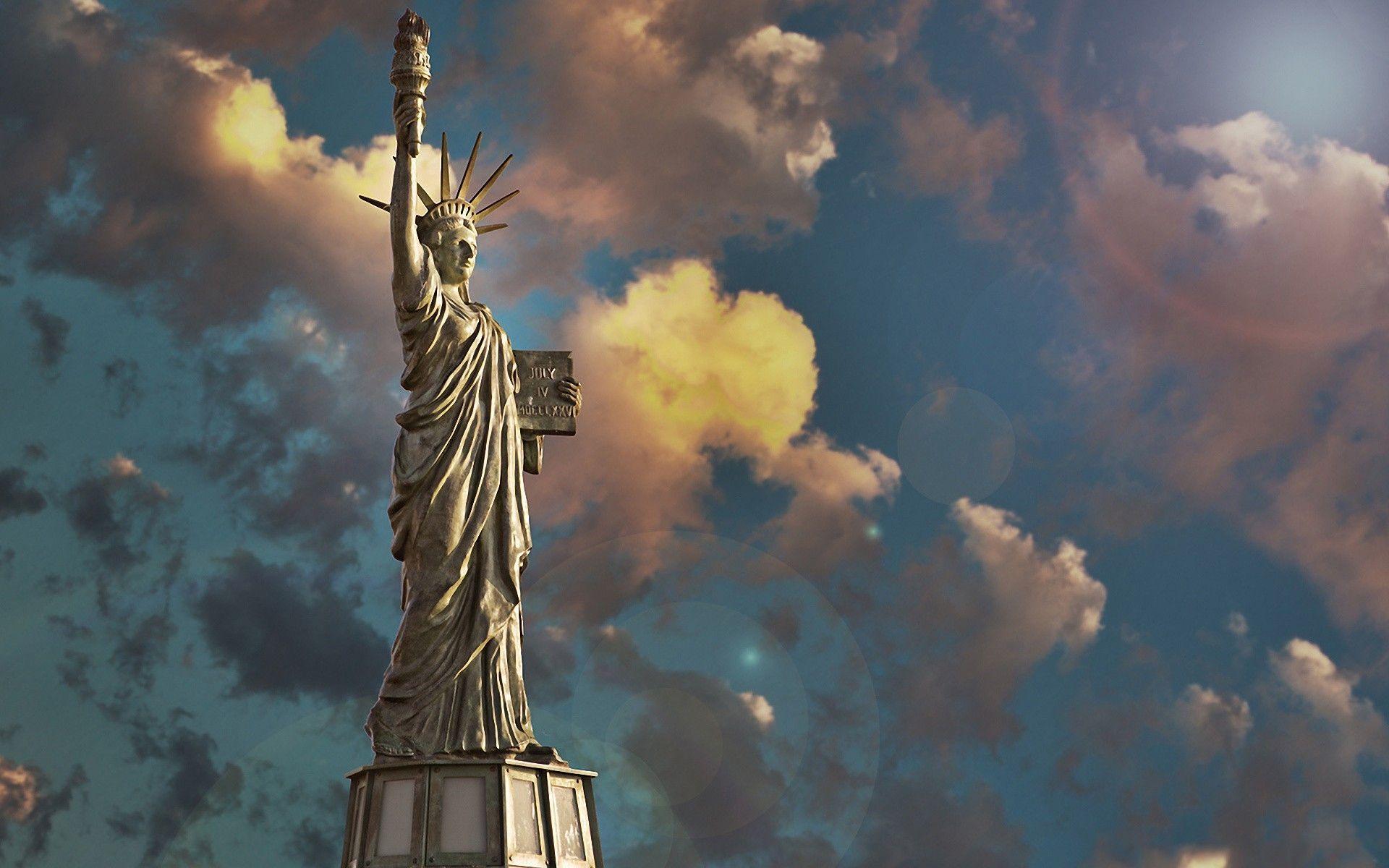 Hình ảnh tượng nữ thần tự do