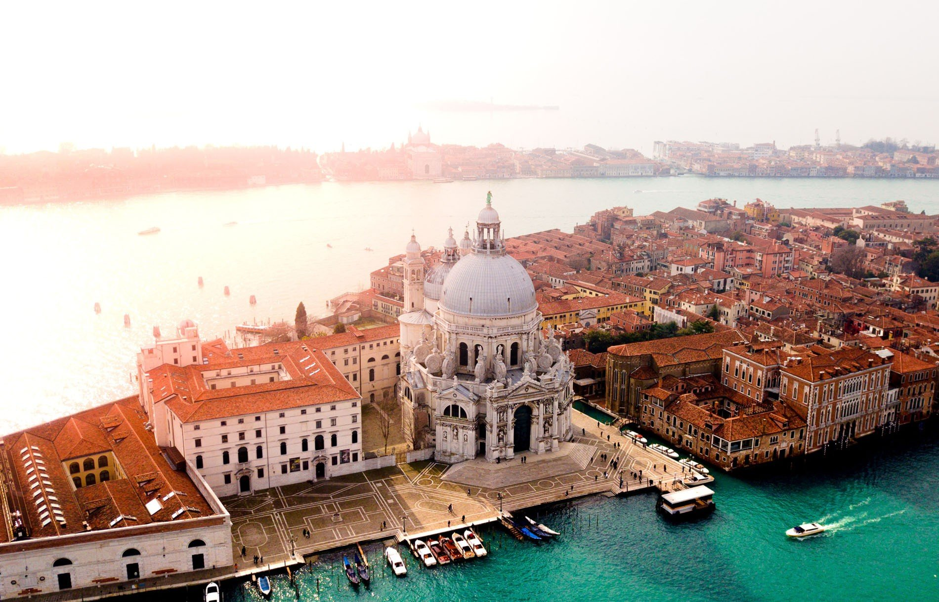 Hình ảnh Venice nhìn từ trên cao