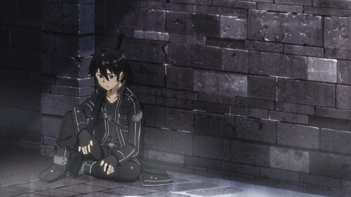 Hình anime con trai buồn cực đẹp