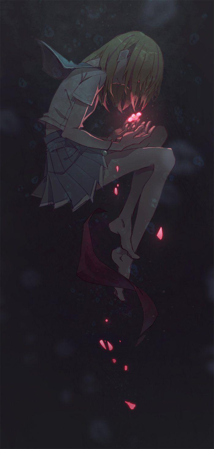 Hình nền anime buồn, đẹp chất cho điện thoại