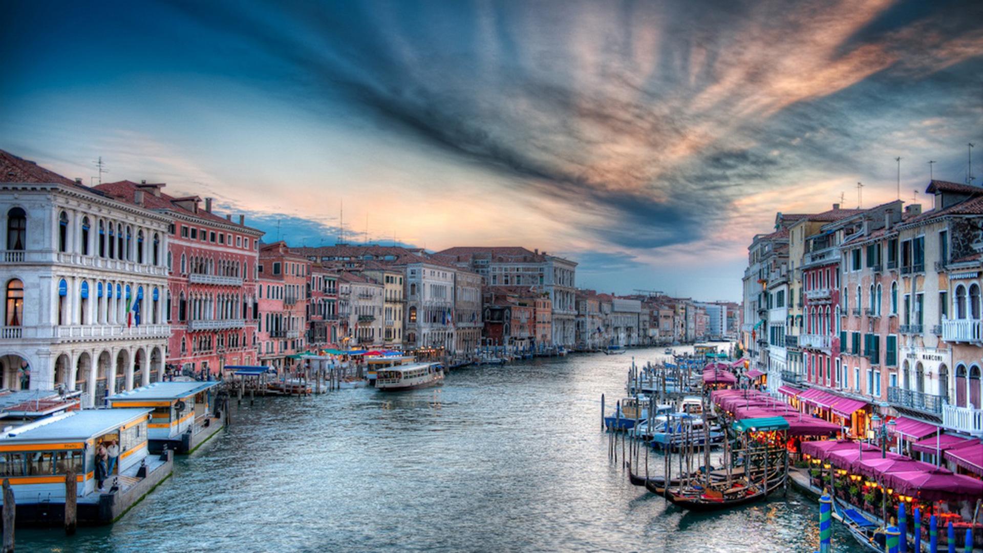 Hình nền thành phố Venice siêu đẹp