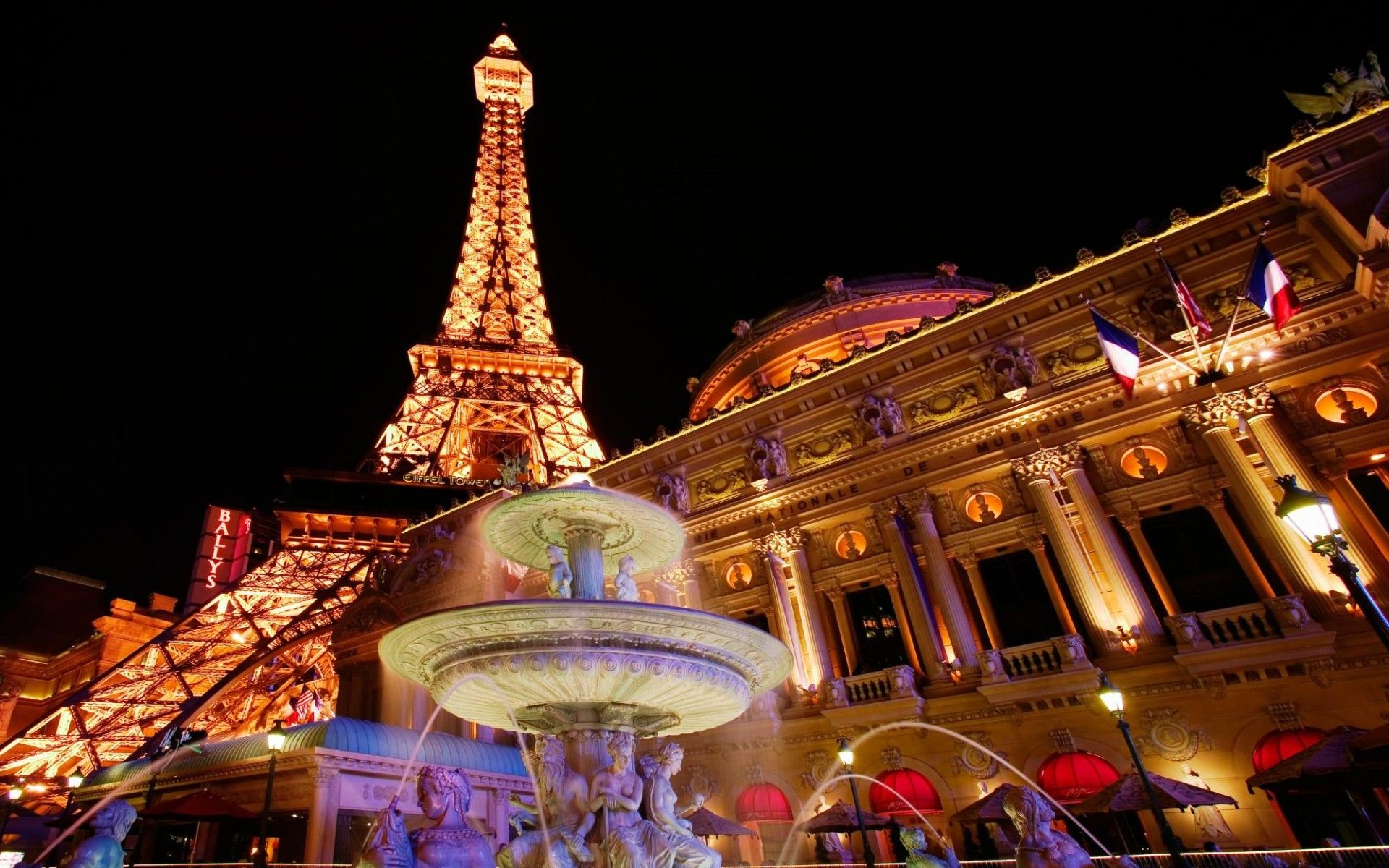 Hình nền tháp Eiffel cho máy tính cực đẹp