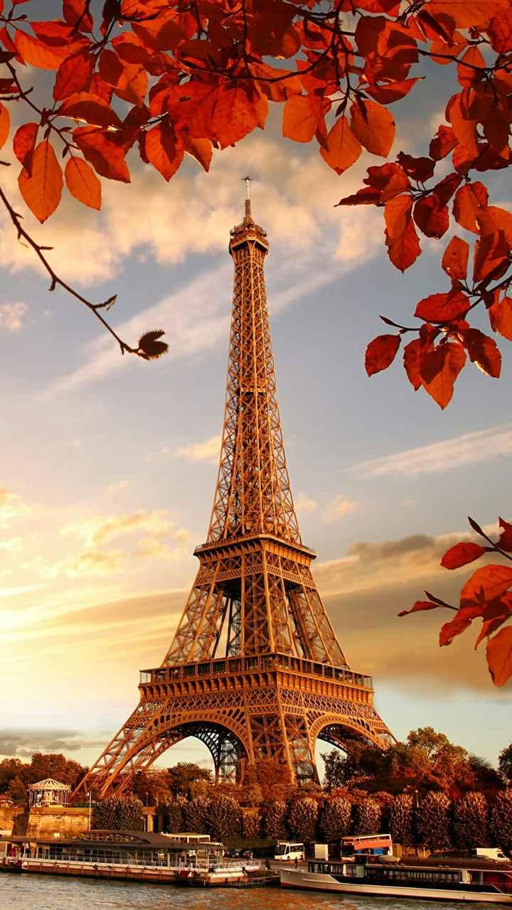 Hình nền tháp Eiffel cực chất cho điện thoại