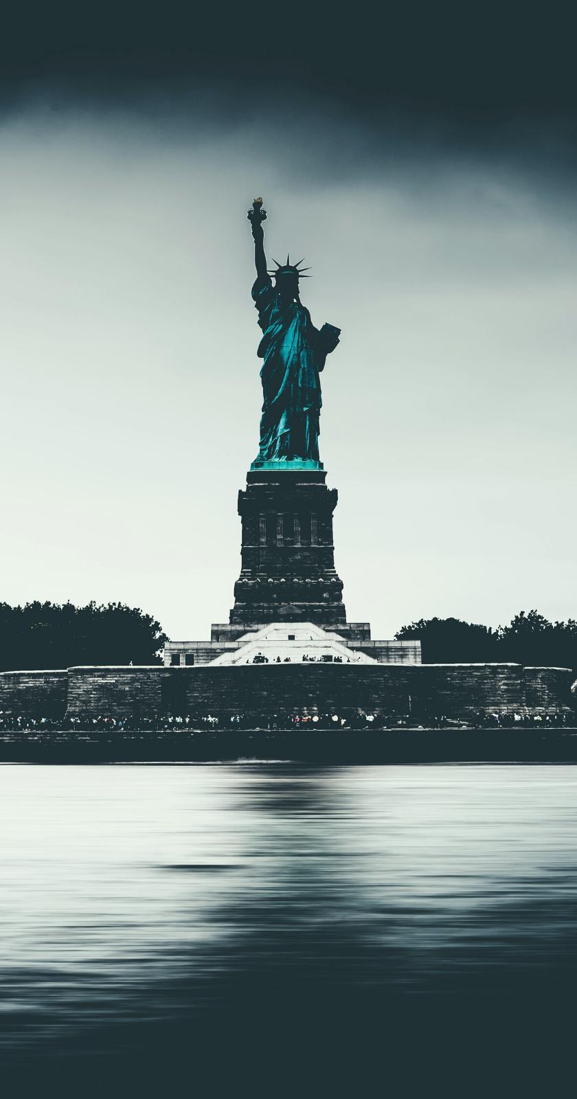 Hình nền tượng nữ thần tự do cho điệnt thoại