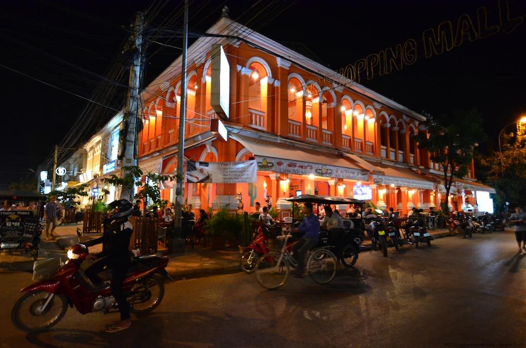 Night Siem Reap City