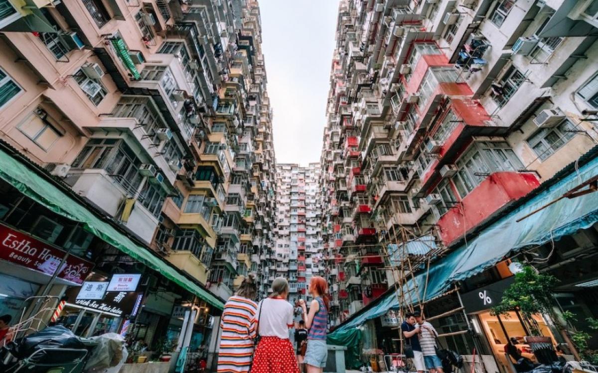 Tòa nhà Monster - địa điểm sống ảo nổi tiếng ở Hồng Kông