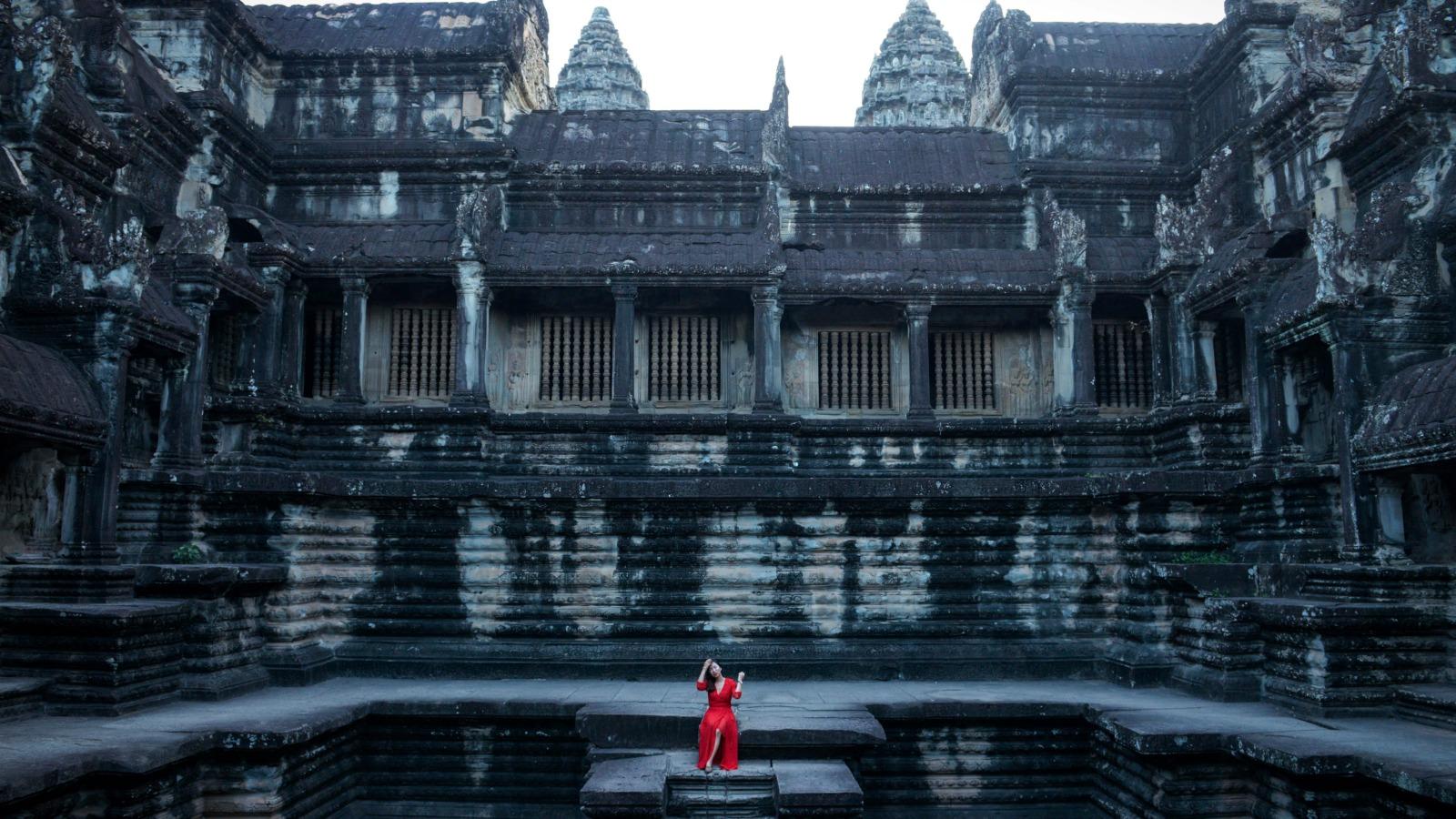 Vẻ đẹp kỳ bí của ngôi đền Ạnkor Wat, Sieam Reap