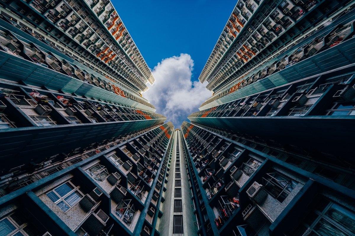 Vẻ đẹp tiềm ẩn của những hòa nhà chọc trời ở Hồng Kông