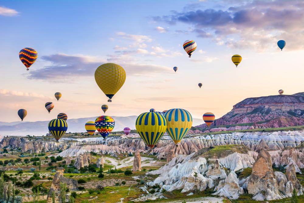 Ảnh Cappadocia - điểm bay khinh khí cầu đẹp nhất thế giới