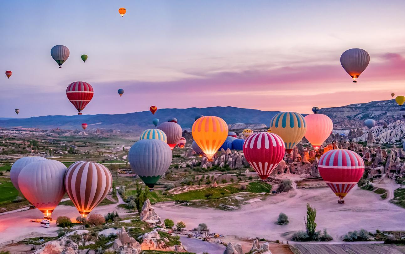 Ảnh Cappadocia Thổ Nhĩ Kỳ - Nơi bay khinh khí cầu đẹp nhất thế giới