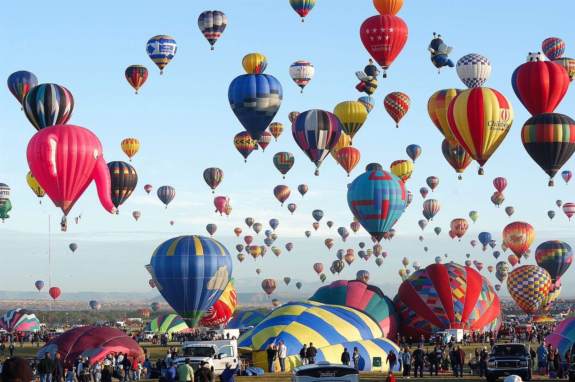 Ảnh lễ hội khinh khí cầu cực đẹp