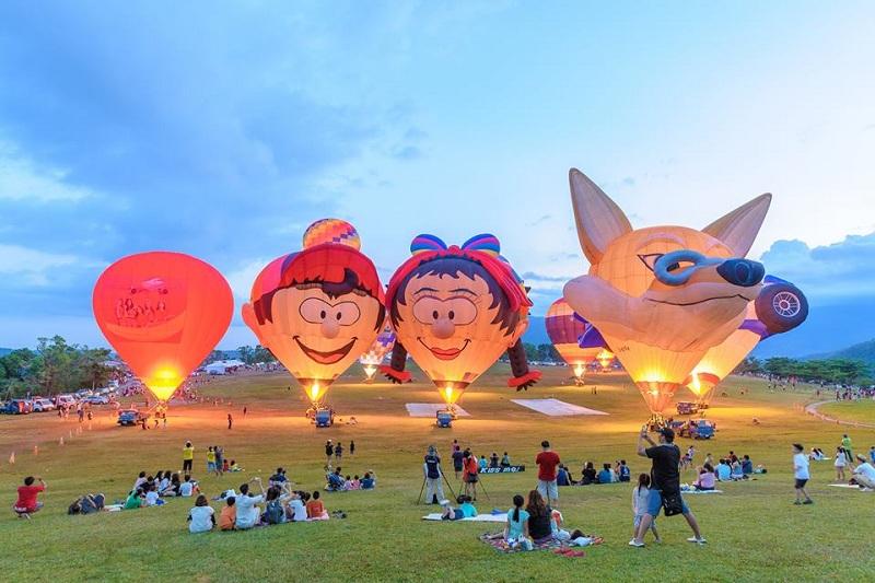 Ảnh lễ hội khinh khí cầu quốc tế tại Đà Nãng