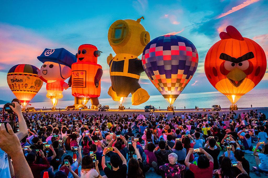 Beautiful Hot Air Ballon