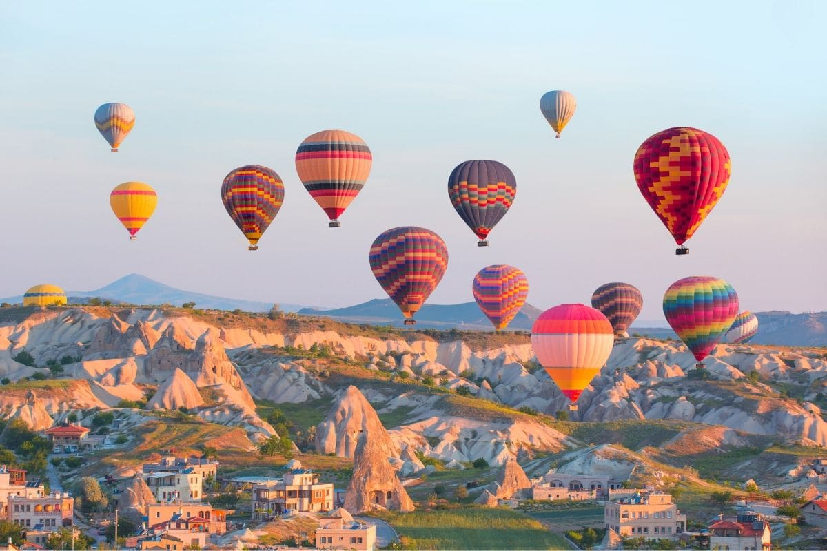 Cappadocia air balloons images