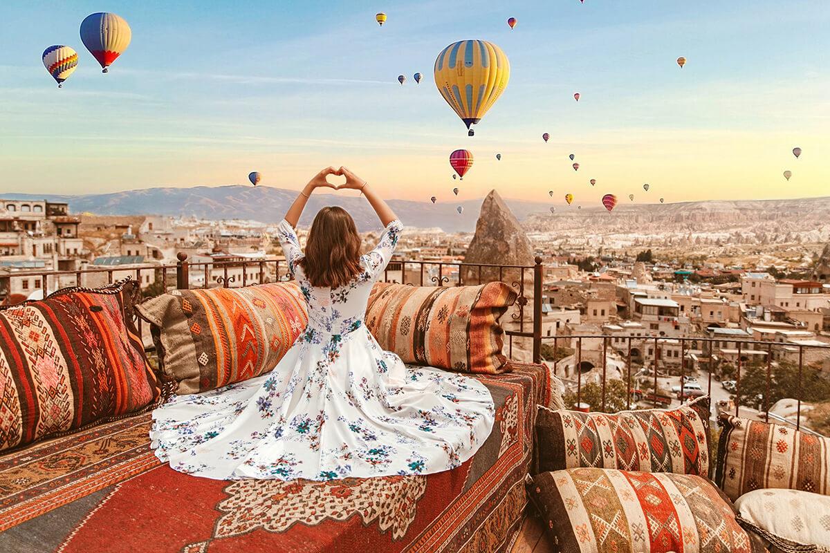 Hình ảnh đẹp khinh khí cầu ở Thổ Nhĩ Kỳ