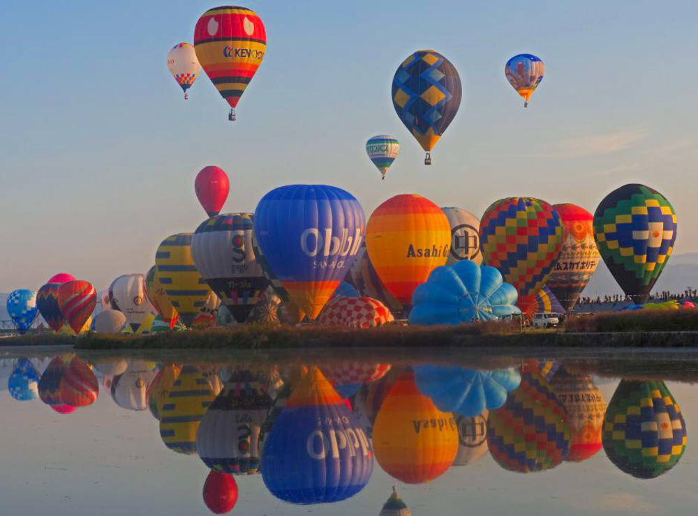 Hình ảnh đẹp nhất về khinh khí cầu