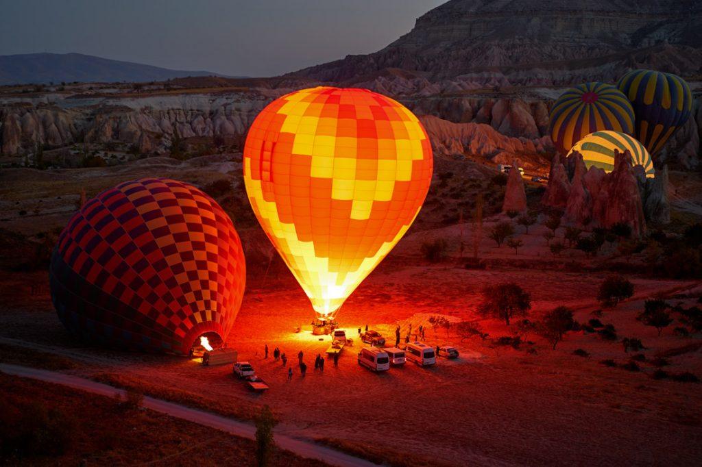 Hình ảnh khinh khí cầu ấn tượng đẹp nhất