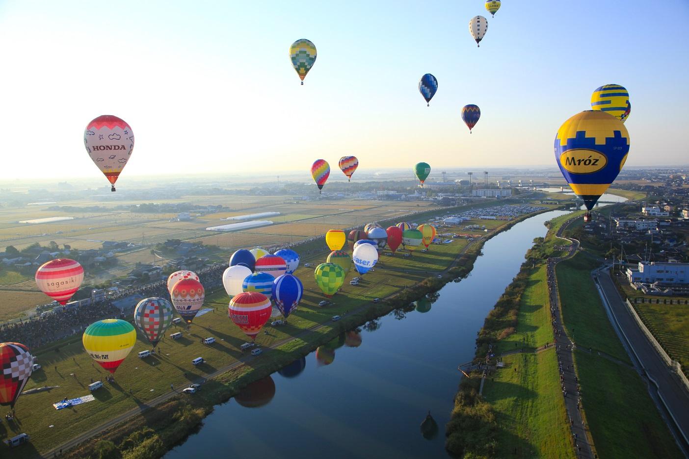 Hình ảnh khinh khí cầu cực đẹp