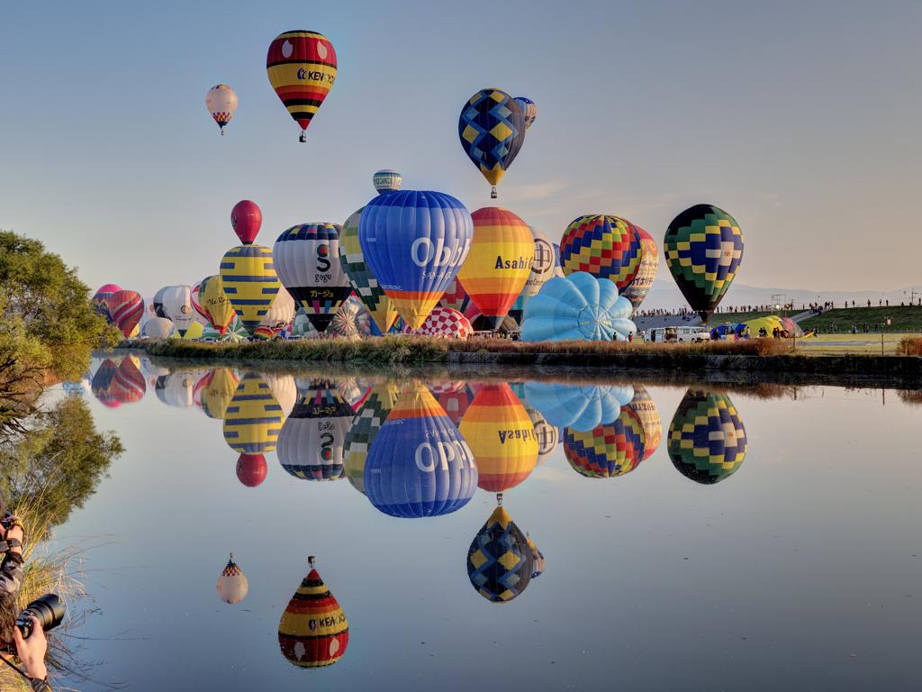 Hình ảnh khinh khí cầu đẹp, ấn tượng nhất