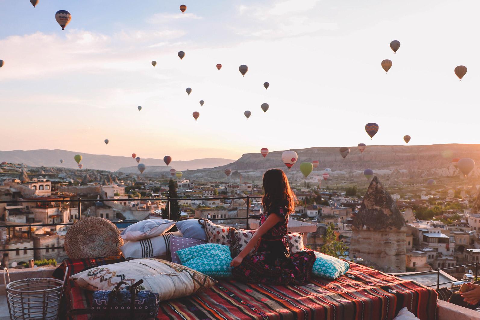 Hình ảnh khinh khí cầu đẹp lãng mạn nhất