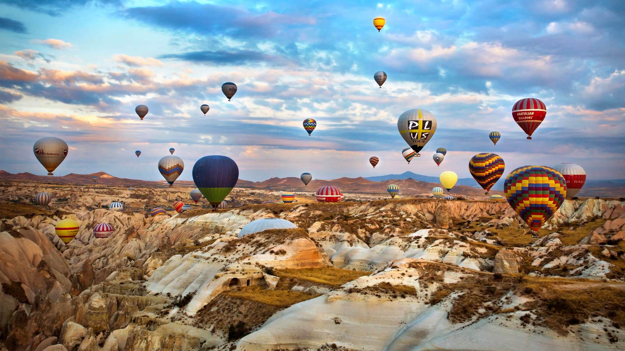 Hình ảnh khinh khí cầu đẹp nhất