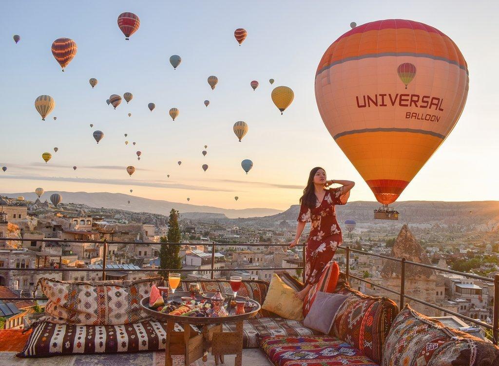 Hình ảnh khinh khí cầu đẹp và thơ mộng nhất