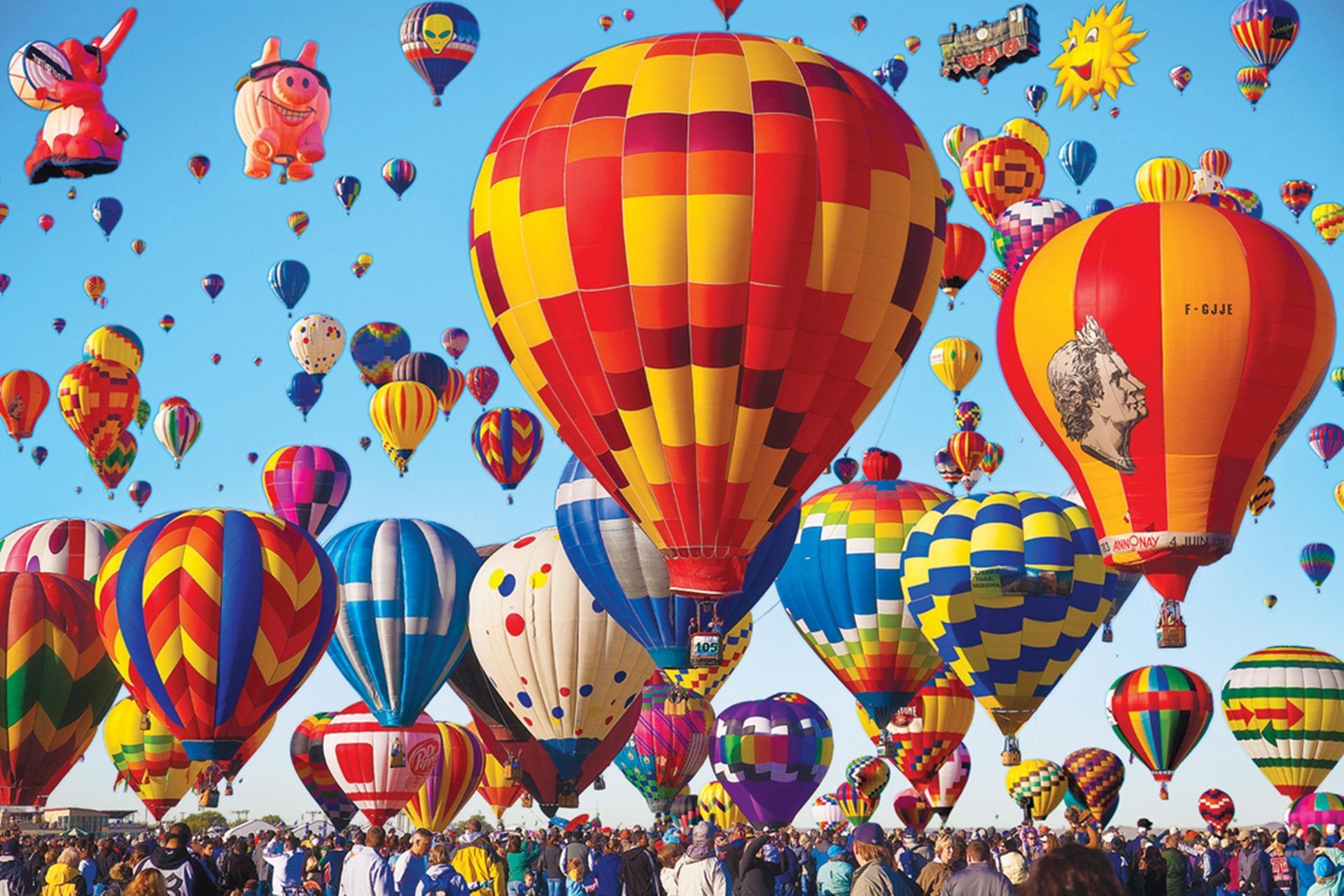 Hình ảnh lễ hội khinh khí cầu cực đẹp