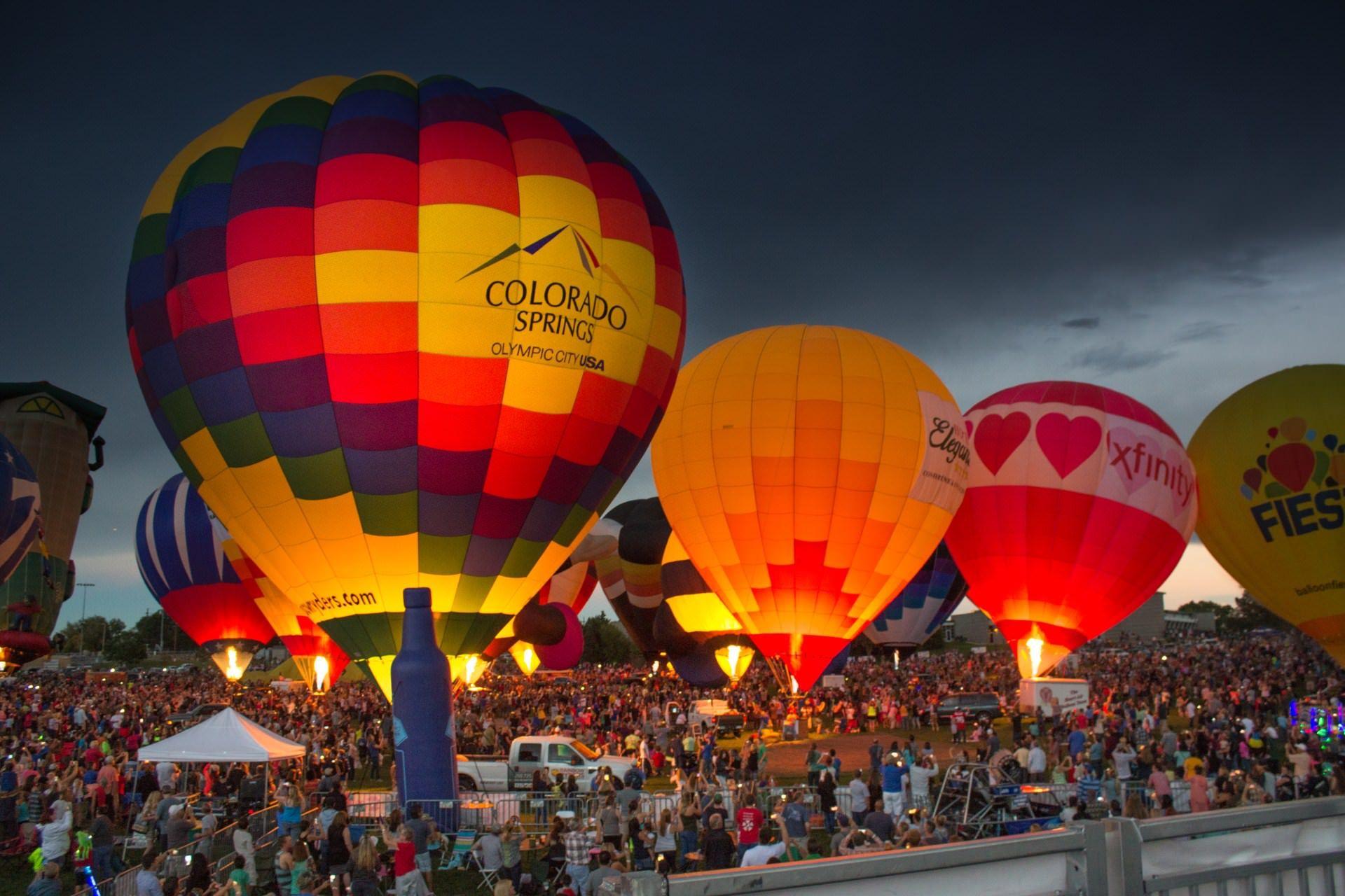 Hình ảnh lễ hội khinh khí cầu đẹp