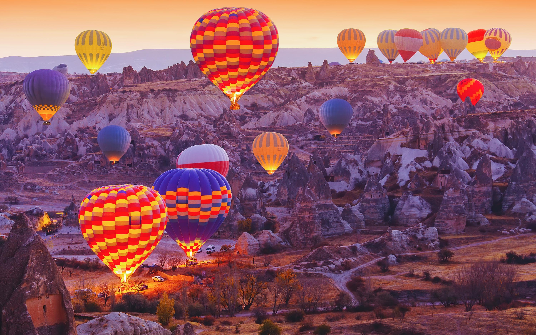 Hot air balloon Cappadocia images