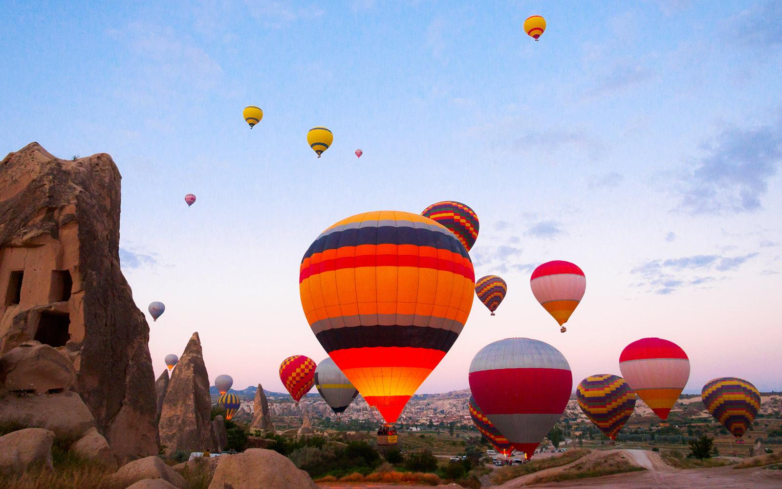 Khinh khí cầu ở Thổ Nhĩ Kỳ